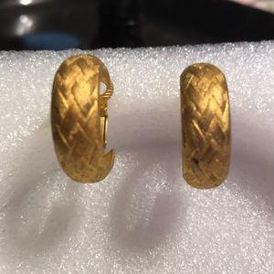 Jewelry - Vermeil earrings
